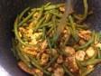 pollo al curry con fagiolini