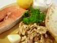 salmone al forno con noci e limone