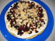 torta semolino ricotta e frutti di bosco