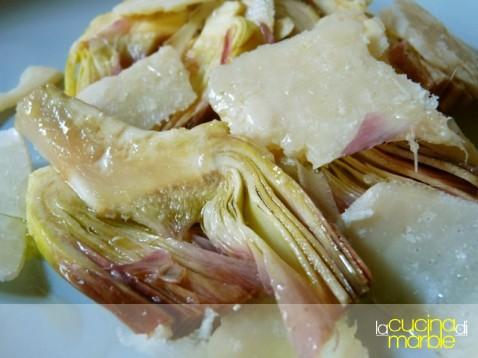 carciofi con il parmigiano