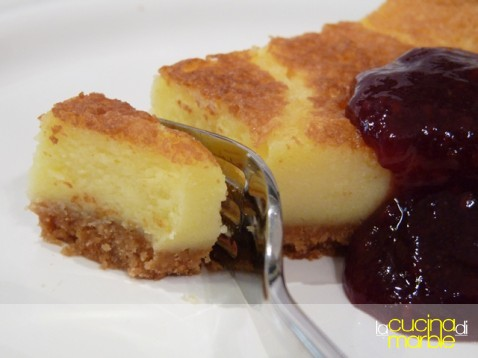 cheese cake alla panna