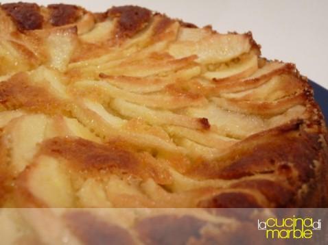 dolce (focaccia) di mele di Allan Bay