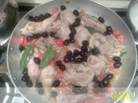 fagiano con le olive di Claudia