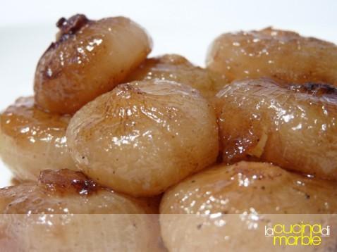 Julia Child's oignons glacès a braun