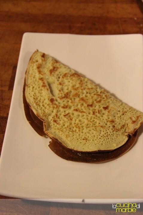 """pancake"" alla nutella"