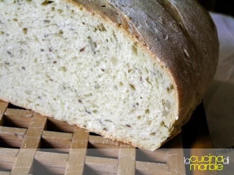 pane ai semi di girasole e lino