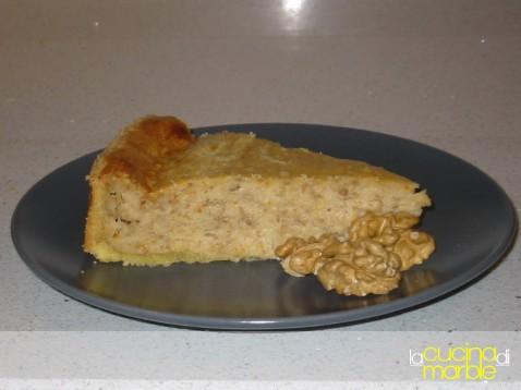 torta alle noci con crema di mascarpone