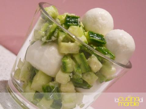 dadolata di zucchine al ginger